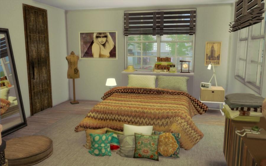 interesting maison bohme chic chambre parentale with. Black Bedroom Furniture Sets. Home Design Ideas