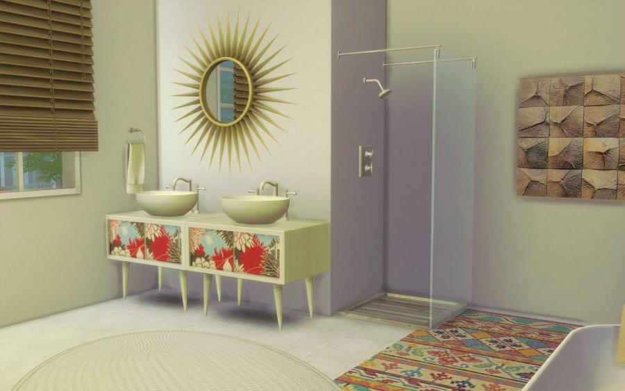 sims 4 maison boheme cc custom content chic. Black Bedroom Furniture Sets. Home Design Ideas
