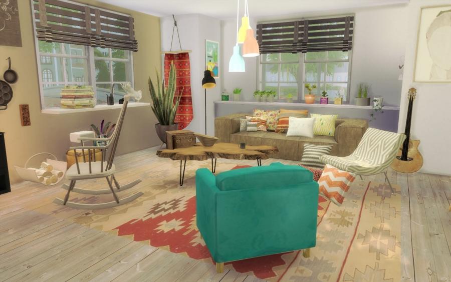 Sims 4 Maison Boheme Cc Custom Content Chic