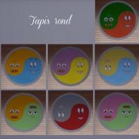 Tapis-rond