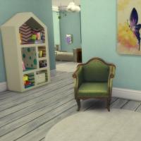 maison victorienne chambre bambin bébé 1