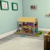 maison victorienne chambre bambin bébé 2