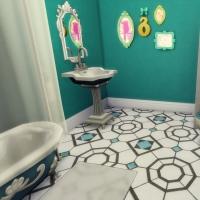 maison victorienne salle de bain chambre bambin bébé
