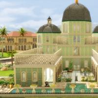 Palais Albina Jardin arrière vue