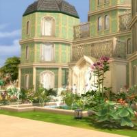 Palais Albina Jardin Avant 1