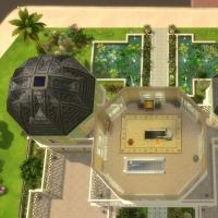 Palais Albina plan troisième étage