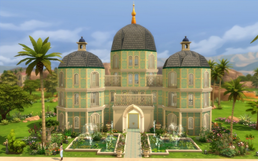 Palais Albina Vue générale