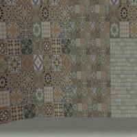 petits et grands carreaux, versions avec carrelage marbre
