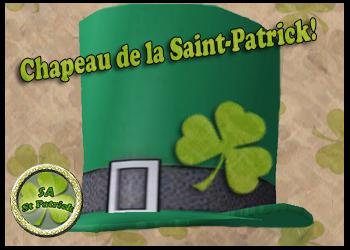 Chapeau de la Saint-Patrick pour Adultes!
