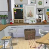 Appartement scandinave - salle à manger