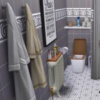 Appartement scandinave - salle d'eau - WC
