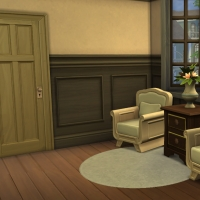 Couloir étage vue 1