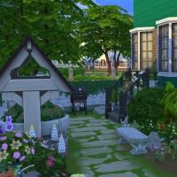 Jardin arri�re vue 2