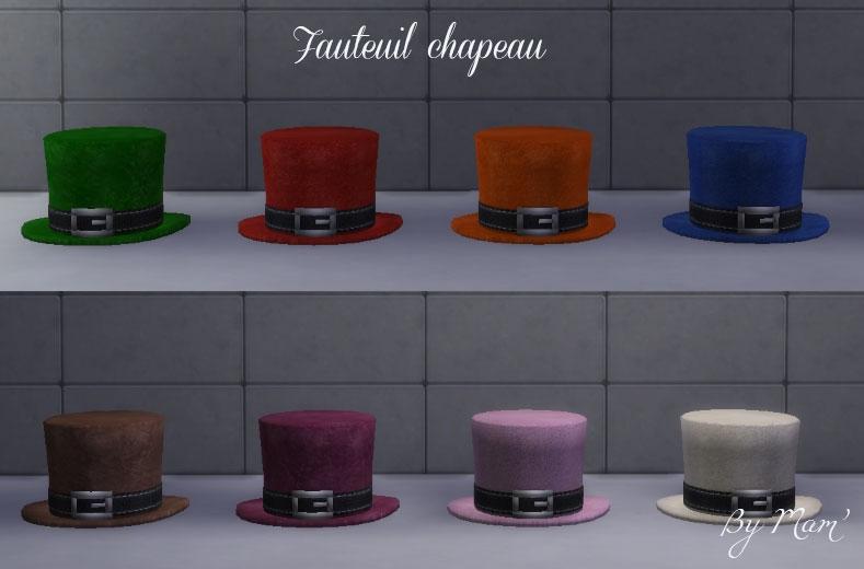 Fauteuil-chapeau
