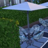 Le café zen - la terrasse découverte