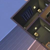 Le café zen - les toilettes à l'étage