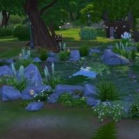 Le parc des délices - le bassin