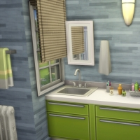 Salle de bains enfant vue 1