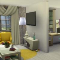 Salon et bureau