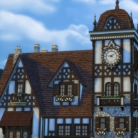 Magasins de Windenburg - Faà§ade avant - vue rapprochée
