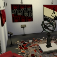 Magasins de Windenburg - Galerie d'art - étage