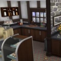 Le café du vieux lavoir - l'accueil et l'espace pour les serveurs
