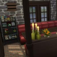 Le café du vieux lavoir - les banquettes