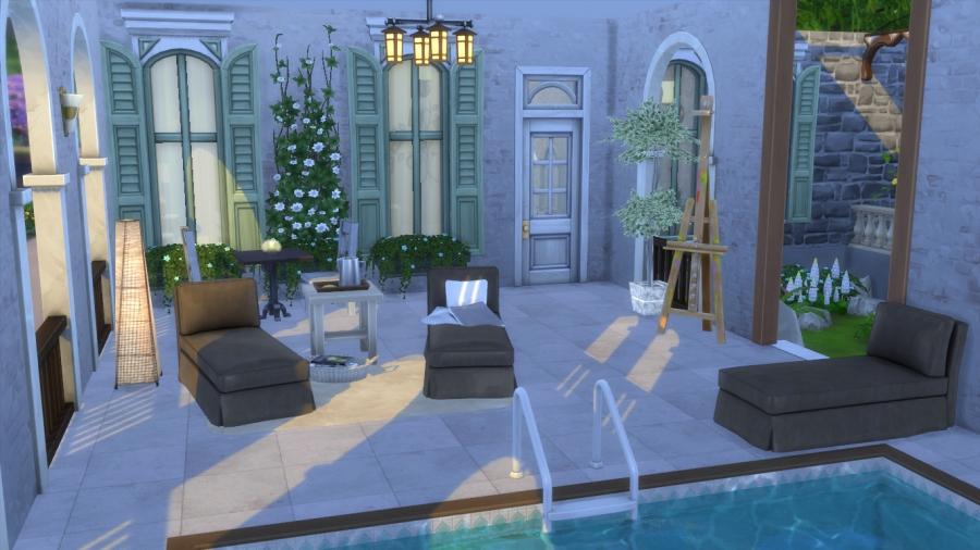 Sims 4 Téléchargement Maison Campagne Chic