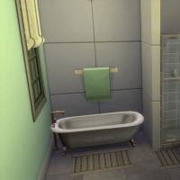 Salle de bains de la chambre 1 vue 2