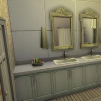 Salle de bains des enfants vue 1
