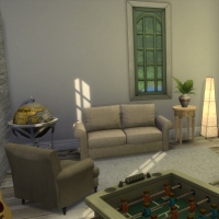 Salle détente vue 1