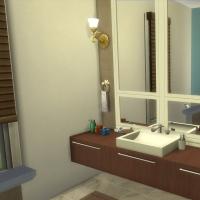 Salle de bains parentale vue 1