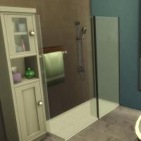Salle de bains parentale vue 2
