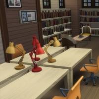 Espace adultes - bureaux et biblioth�ques