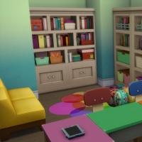 Espace enfants - coin lecture 1