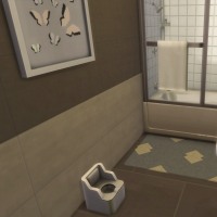 Campanule salle de bain bambin