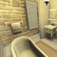 Campanule Salle de bain chambre ami