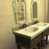 Campanule salle de bain chambre parentale