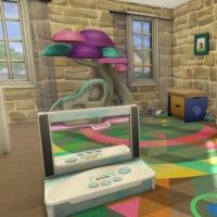 Campanule salle de jeux enfant 1