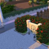 Cimetière du grand repos - fontaine et concession