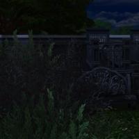 Le cimeti�re maudit - le caveau de la mari�e