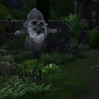 Le cimeti�re maudit - les tombes des petites gens