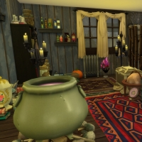 Combles, laboratoire de sorcière vue 1
