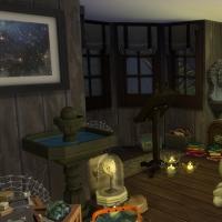 Combles, laboratoire de sorcière vue 2