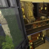 Palier de l'étage vue 3