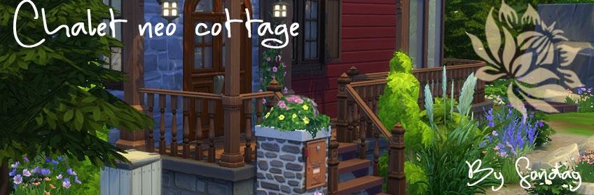 Chalet néo cottage (avec CC)