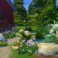 Extérieurs - vue sur jardin 2