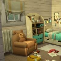 Blue - chambre pour enfant et bambin - le lit pour enfant