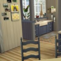 Blue - cuisine et salle à manger