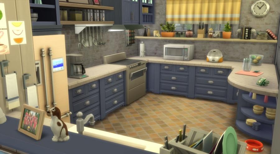 Sims 4 t l chargement sans cc no cc download house maison for Cuisine 3d sans telechargement